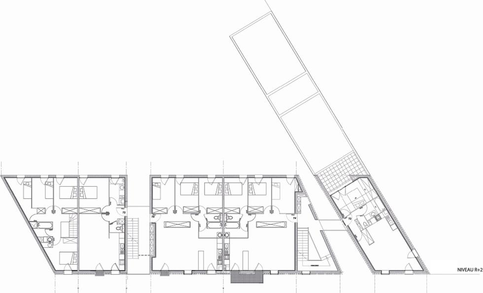 18 logements H&E collectifs et individuels